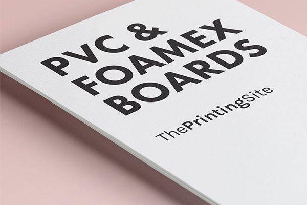 foamex board printing london