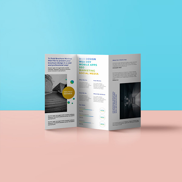 folded leaflet printing london