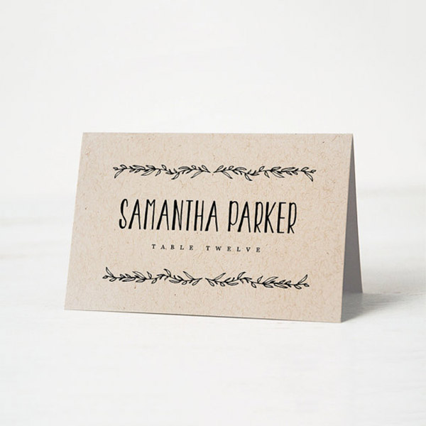 cheap place cards printing