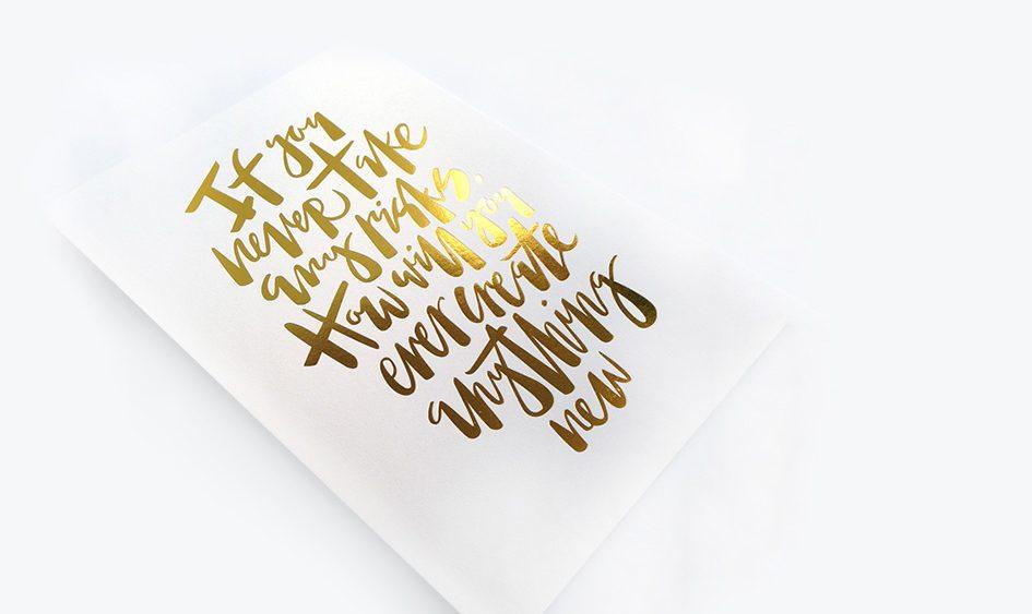 metallic printing foil printing