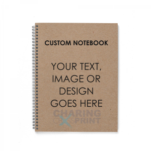 custom personalised notebooks